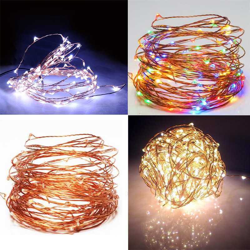 Copper String Lights Diy : 20M 200LEDS Copper Wire Waterproof String Lights Christmas Party Home DIY Decor eBay