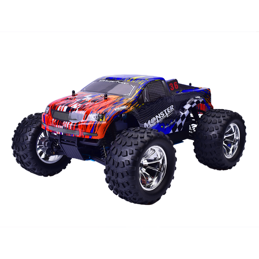 Hsp Rc Truck Nitro Gas Power Off Road Monster Truck 94188: 94188 4wd HSP Rc Truck 1/10 Scale Models HOT Power Off