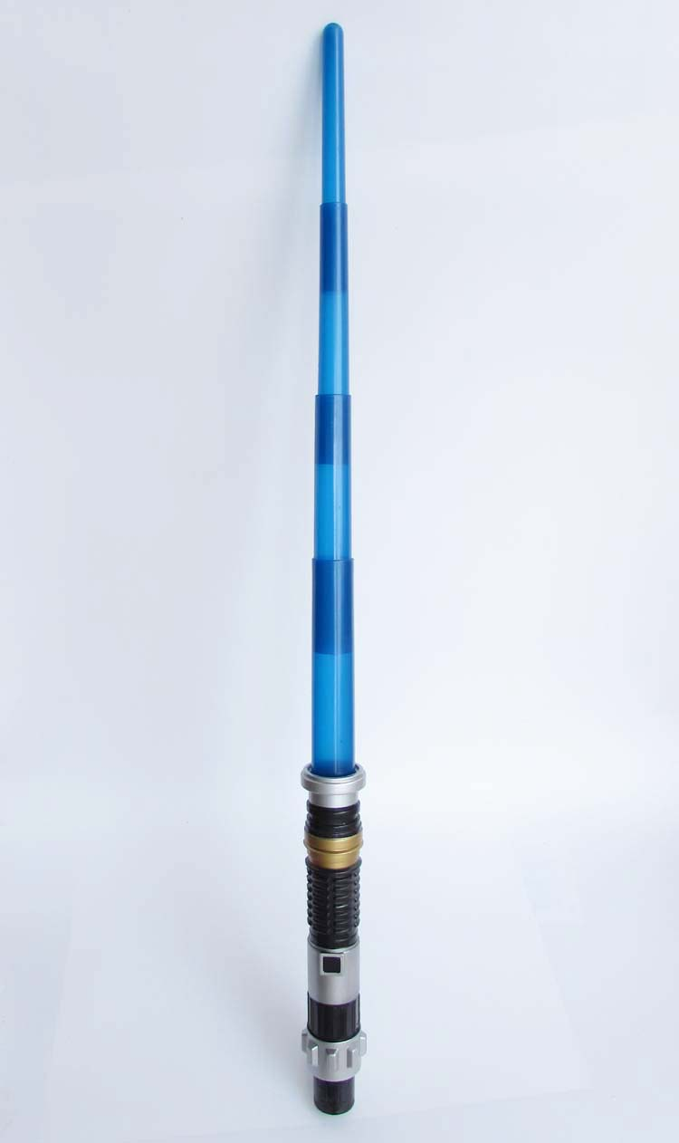 Lightsaber Wall Light Toys R Us : Blue Electronic Light Saber Toy Kids Gift Lightsaber Scalable Light & Sound FX eBay
