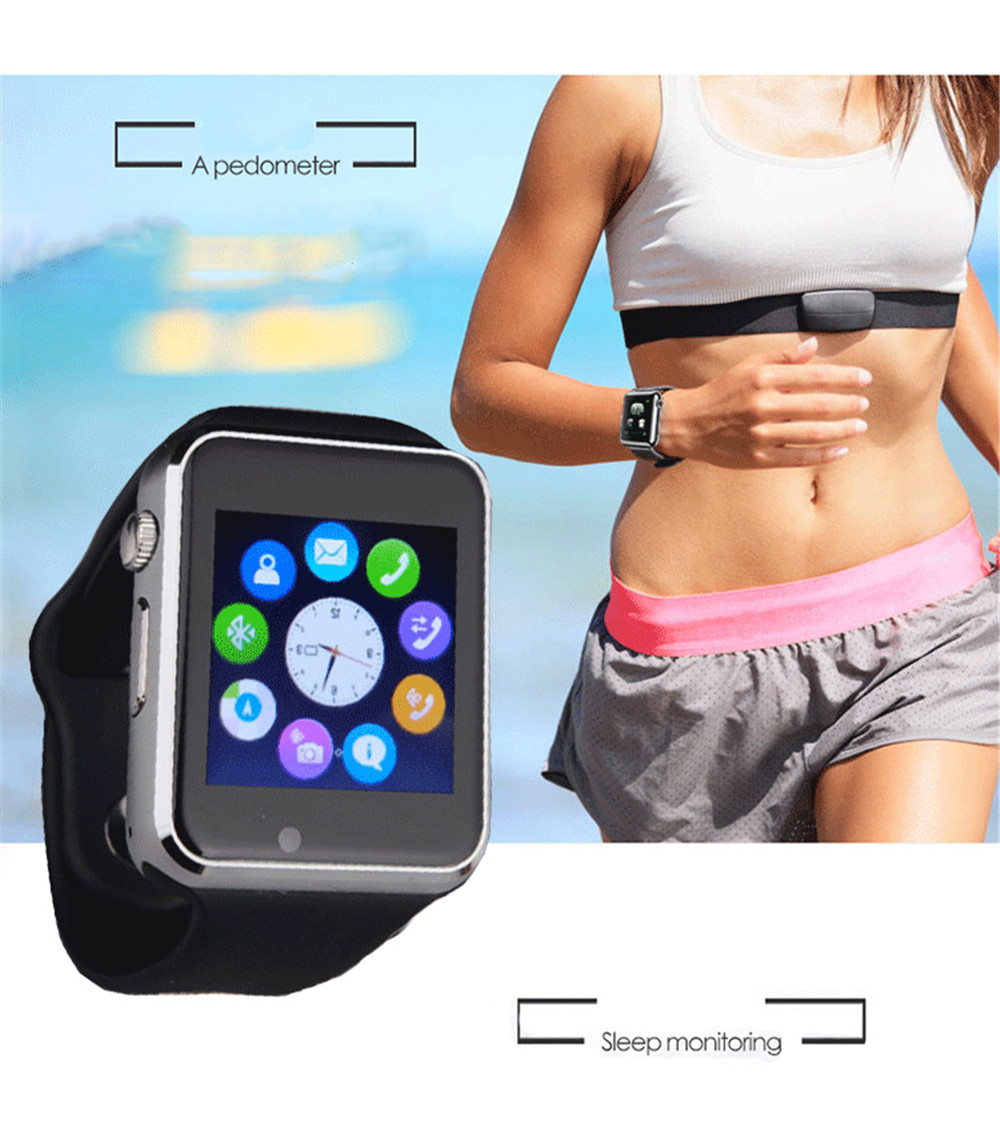 Bluetooth Smart Watch Phone Gsm Sim Card For Android