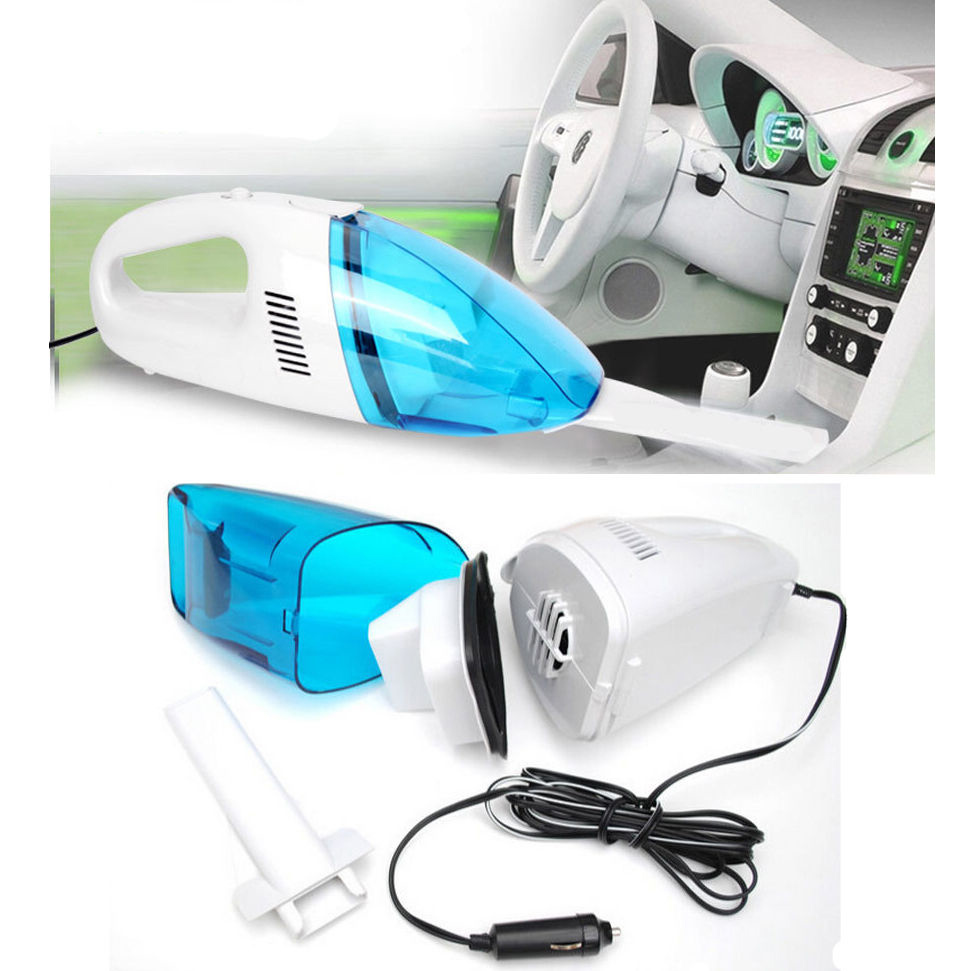 12v mini portable car vehicle auto recharge wet dry handheld vacuum cleaner ebay. Black Bedroom Furniture Sets. Home Design Ideas