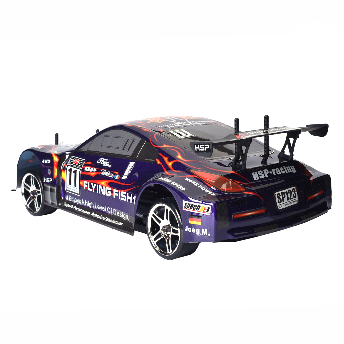 HSP 94123 Rc Drift Car High Speed Flying Fish Drifting 4wd