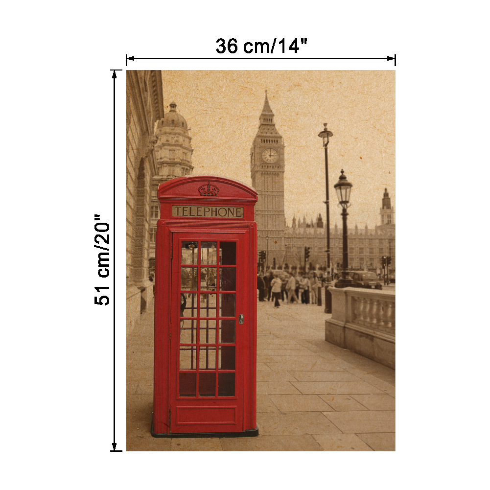 Diy Vinyl Wall Art Contact Paper : Telephone booth room posters diy art wall decal decor