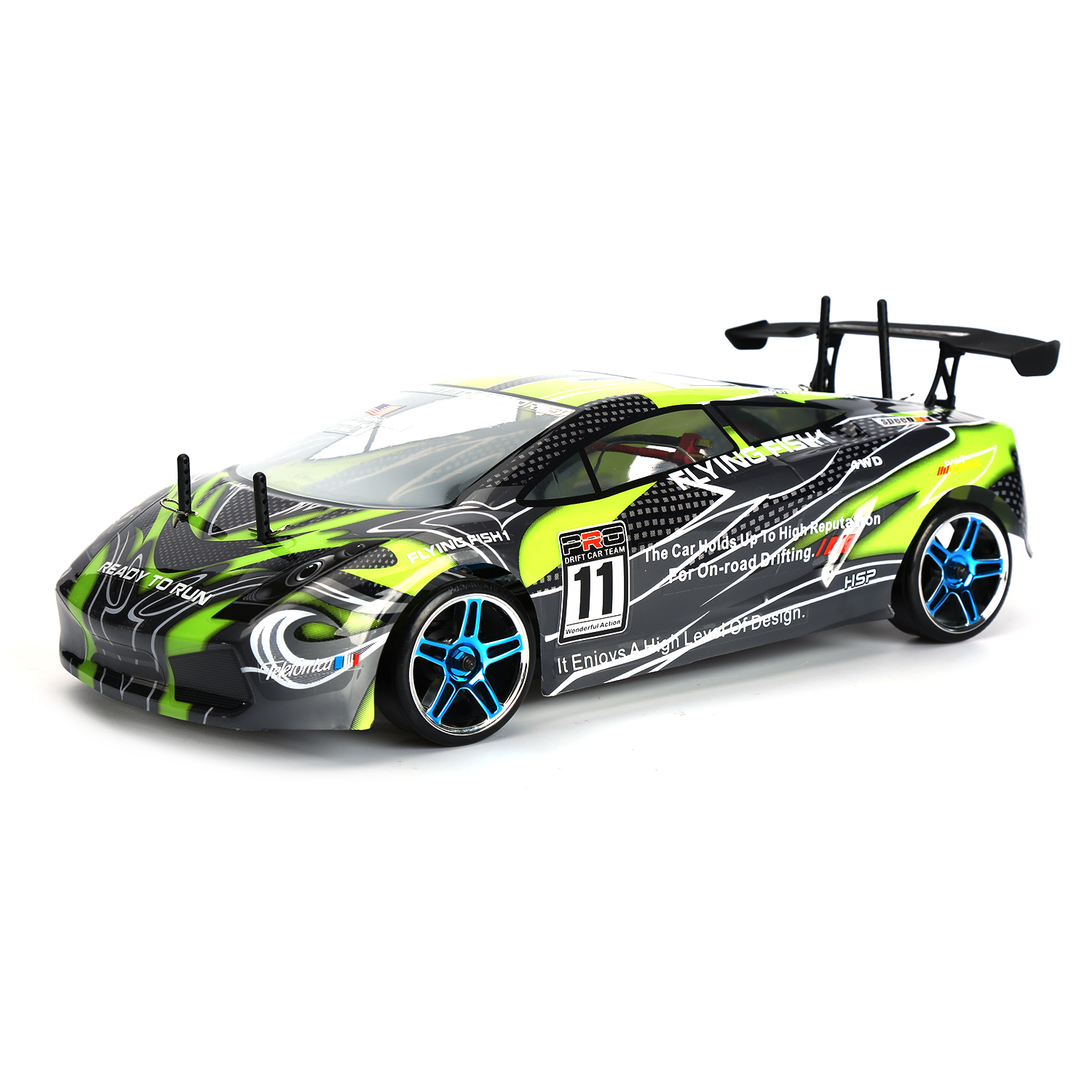 Hsp Rc Drift Car 4wd 1 10 Scale Electric On Road Drift
