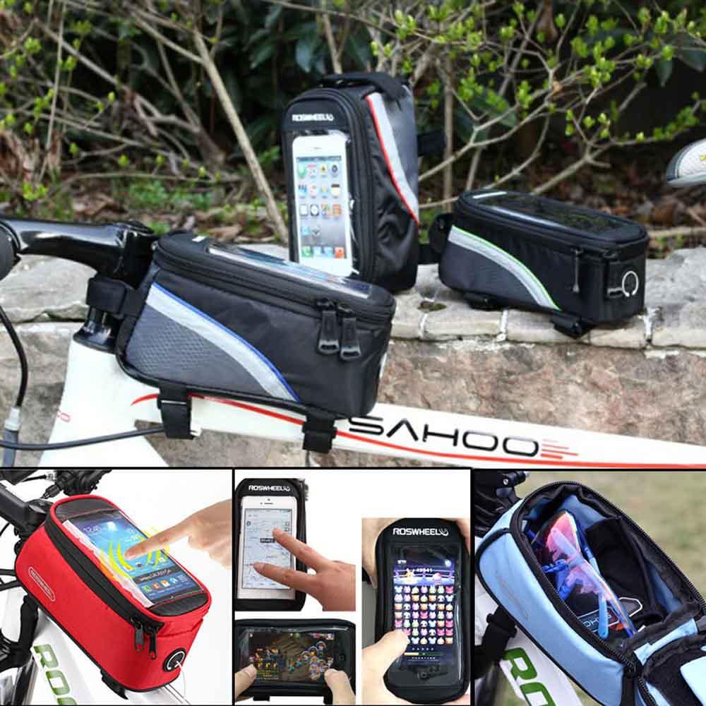 roswheel 4 8 5 5 fahrrad handytasche smartphone. Black Bedroom Furniture Sets. Home Design Ideas