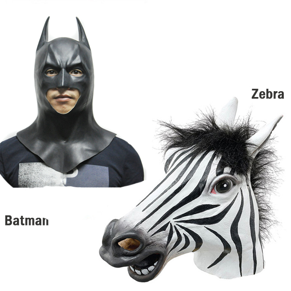 Adult Horse/Unicorn/Pig/Sheep/Panda/Chicken/Zebra/Batman
