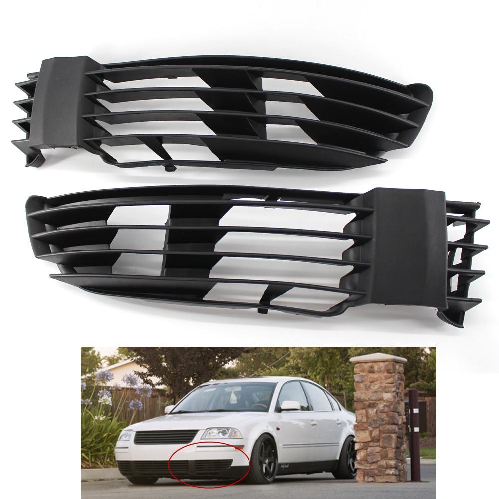front bumper lower left right grille for vw passat gls. Black Bedroom Furniture Sets. Home Design Ideas