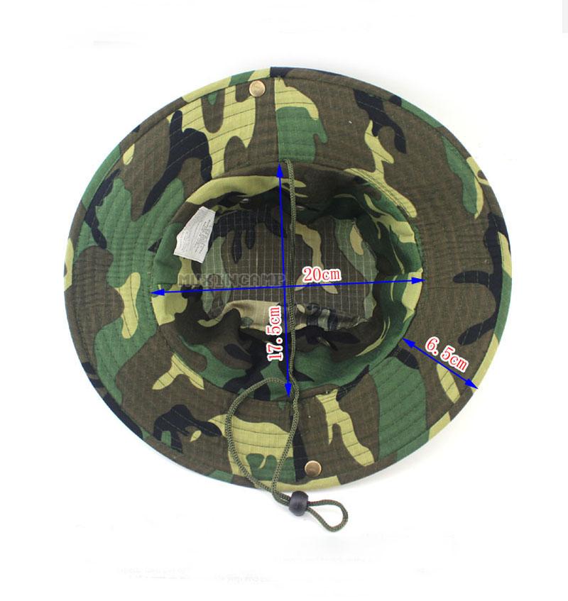 Bucket Hat Boonie Hunting Cap Camo Wide Brim Outdoor ... - photo #24