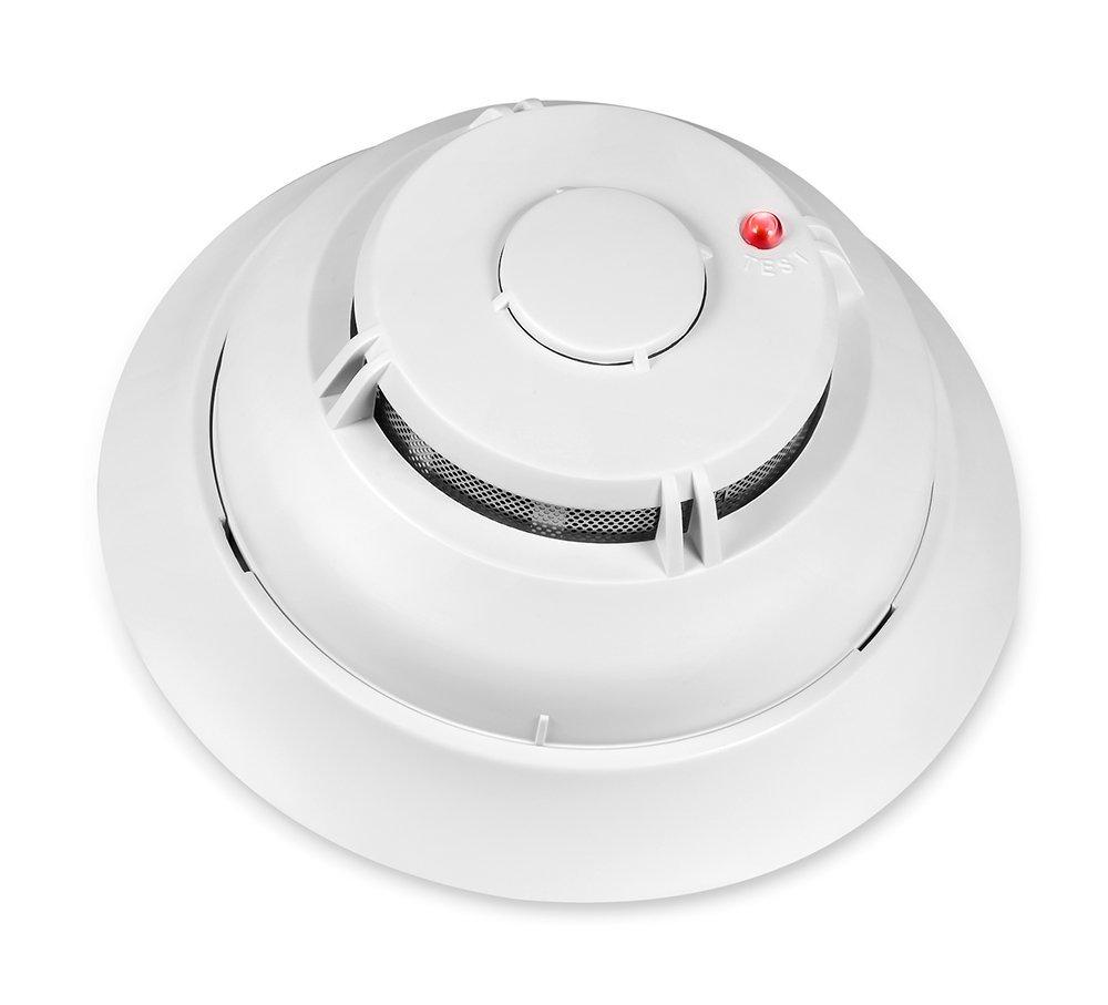 x sense sd03a smoke alarm fire smoke detector with photoelectric sensor ebay. Black Bedroom Furniture Sets. Home Design Ideas