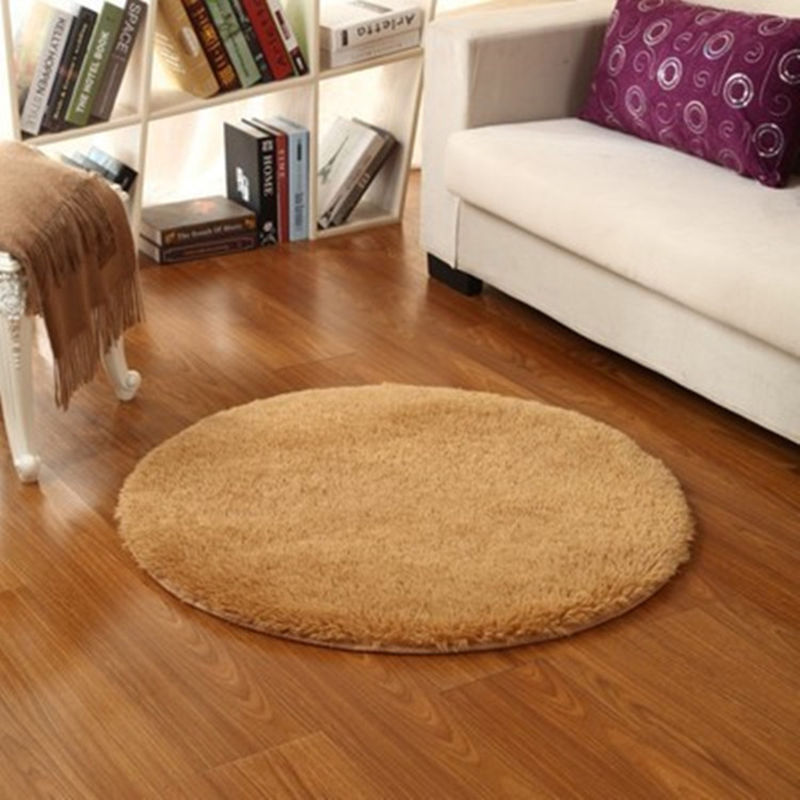 circle round soft round rug living room carpet bedroom