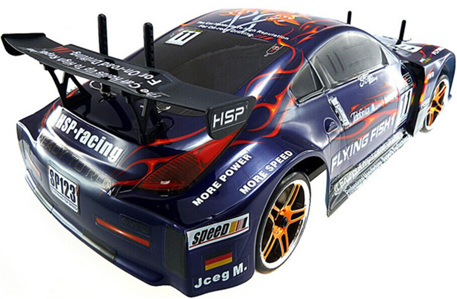 High Speed Hsp Rc Drift Car Electric Flying Fish