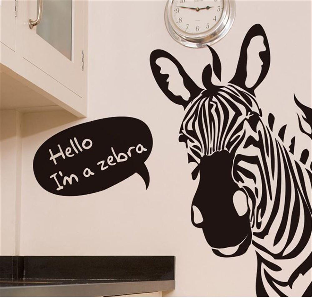 Wall Decor Stickers Modern : Decorative stickers animal decor modern removable decal