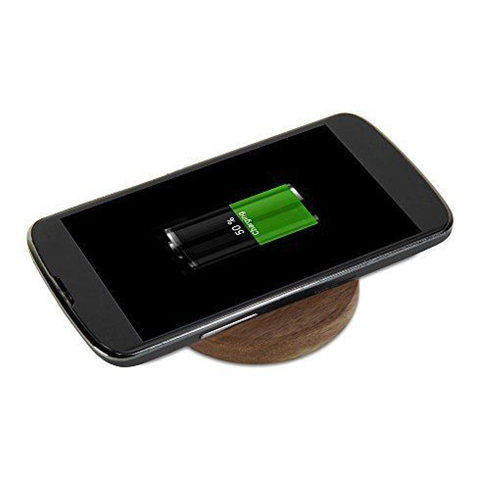 qi wireless charger charging pad mat stand for samsung galaxy s6 smartphone uk ebay. Black Bedroom Furniture Sets. Home Design Ideas