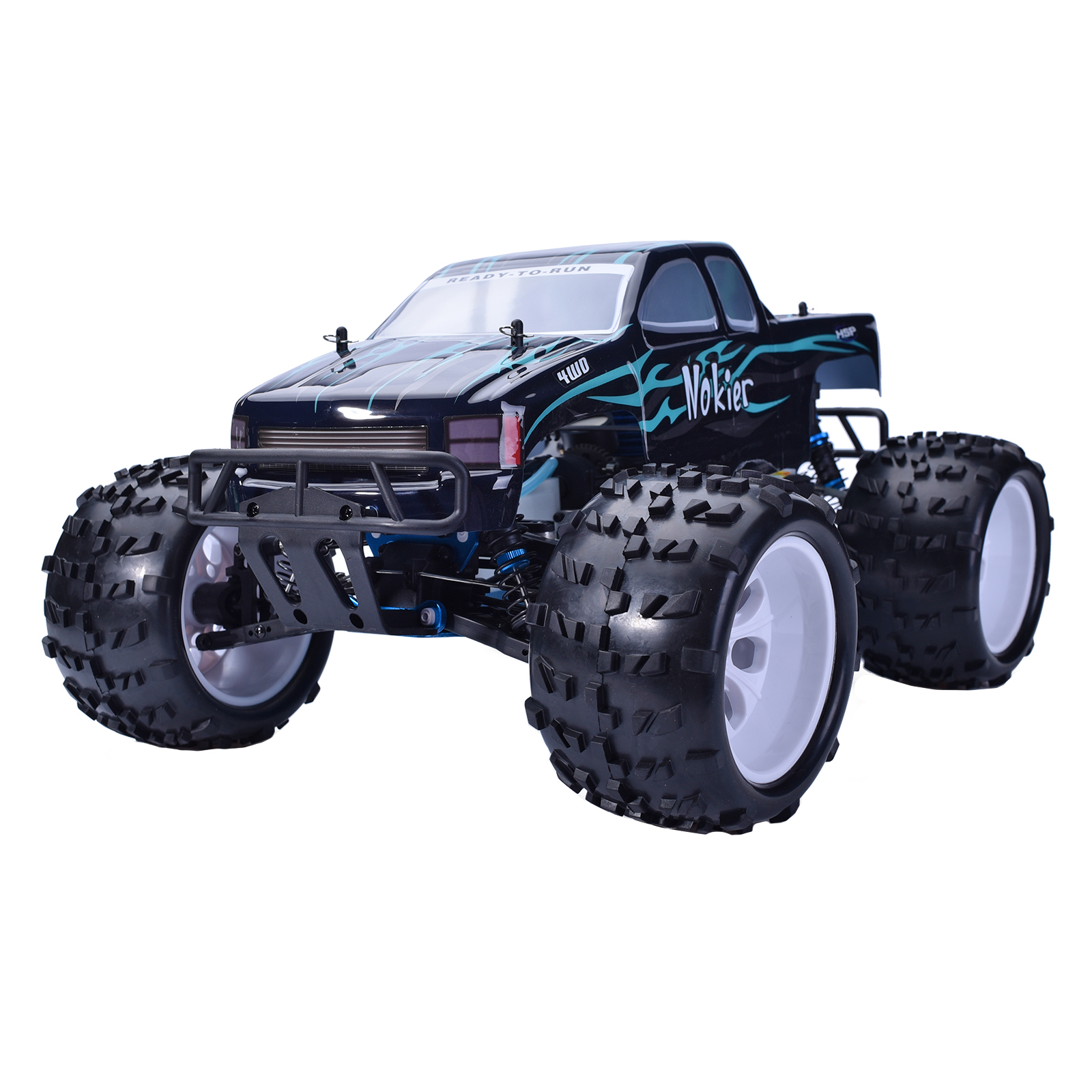Hsp Rc Truck Nitro Gas Power Off Road Monster Truck 94188: HSP 1/8 RTR 2.4GHz Nitro 2 Speed 4x4 RC Car Off Road
