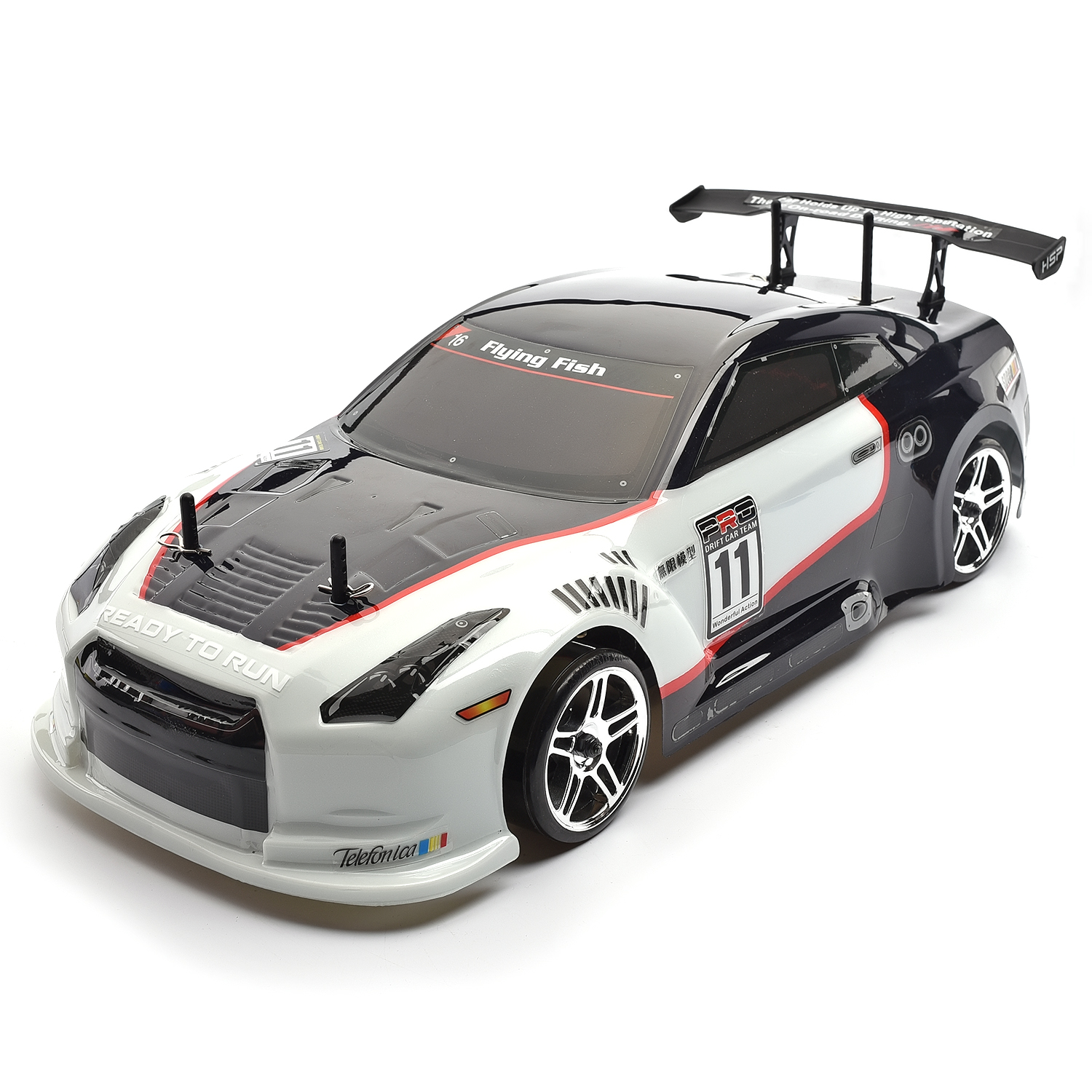 HSP Drift Car 1/10 Scale Models 4wd Gas Power On Road
