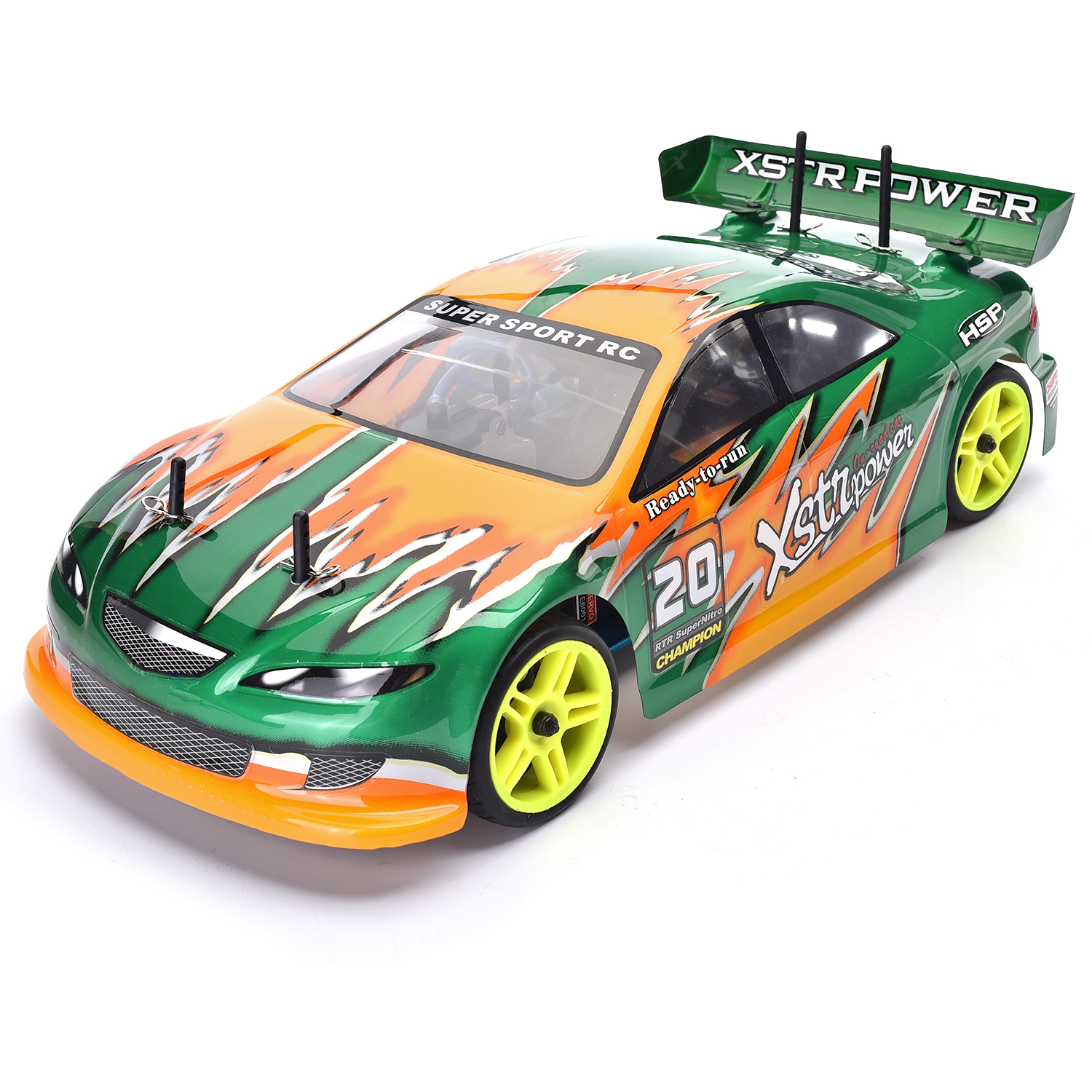HSP Drift Car 1/10 Scale Models 4wd Nitro Gas Power On