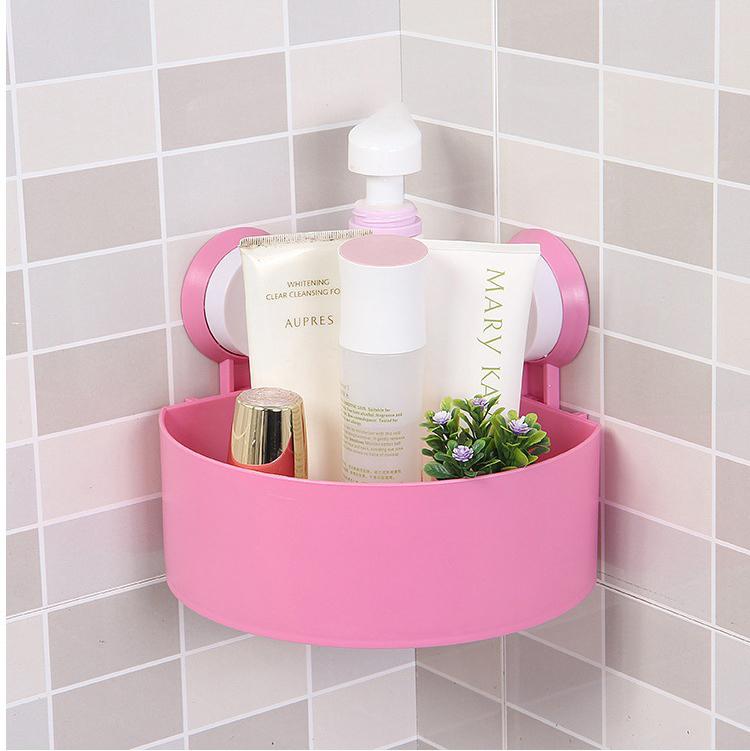 hanging shower caddy shelf store shampoo holder. Black Bedroom Furniture Sets. Home Design Ideas