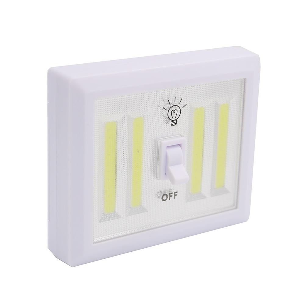 8w Cob Led Wall Switch Wireless Closet Cordless Night