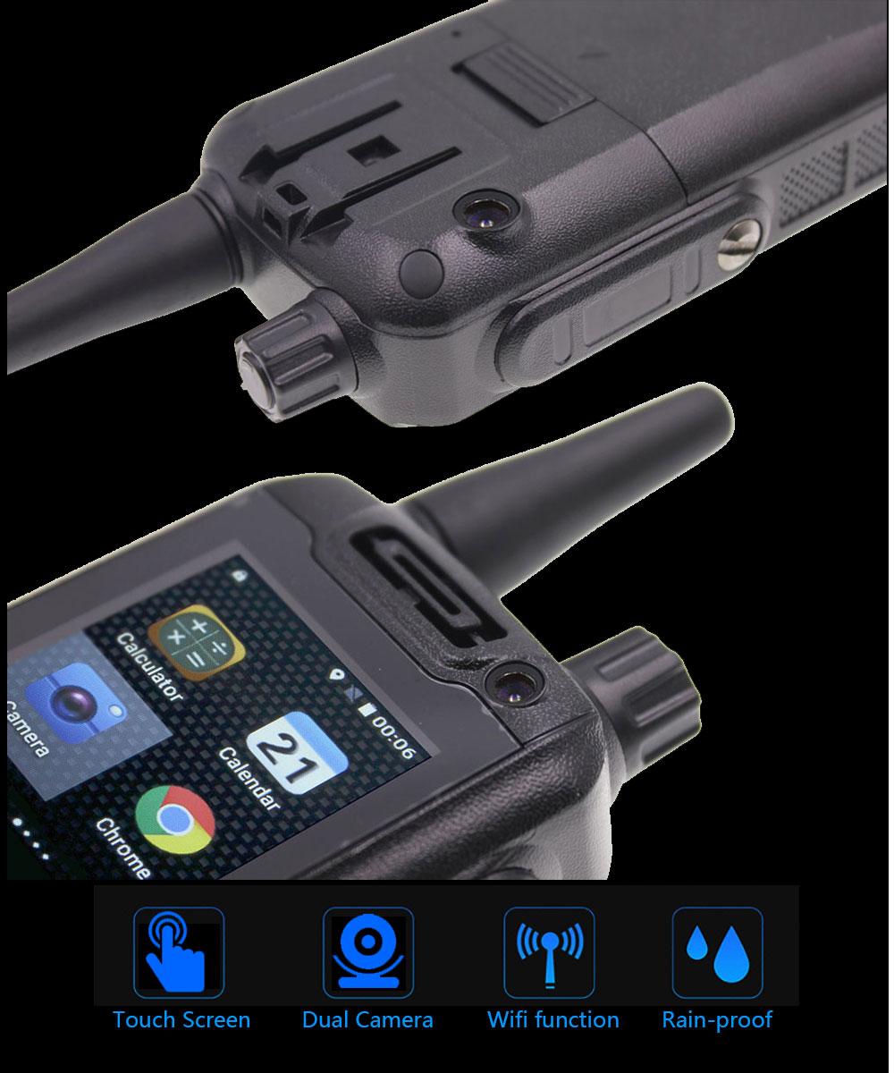 Anysecu G25PLUS 4G LTE Network Intercom F25 Android 4G WIFI radio Zello REAL PTT