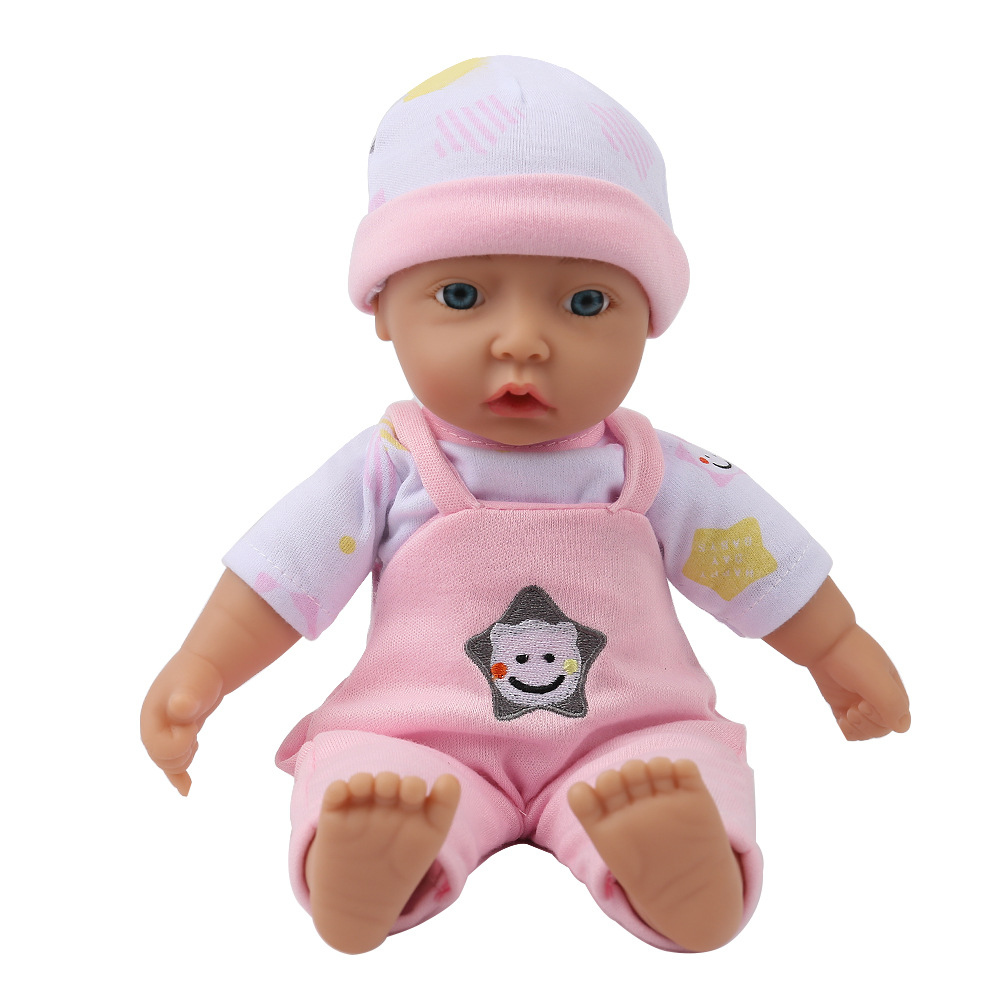 Details about 11 soft cloth vinyl silicone baby reborn dolls toy clothes for girls and boys