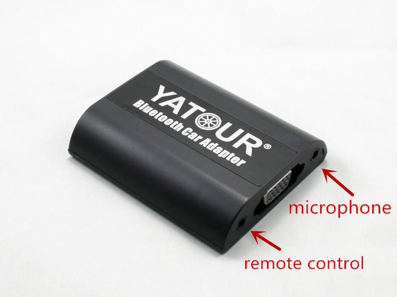 Yatour Bluetooth Adapter for Toyota Lexus Scion Small 5+7 plug Keep 6CD Changer
