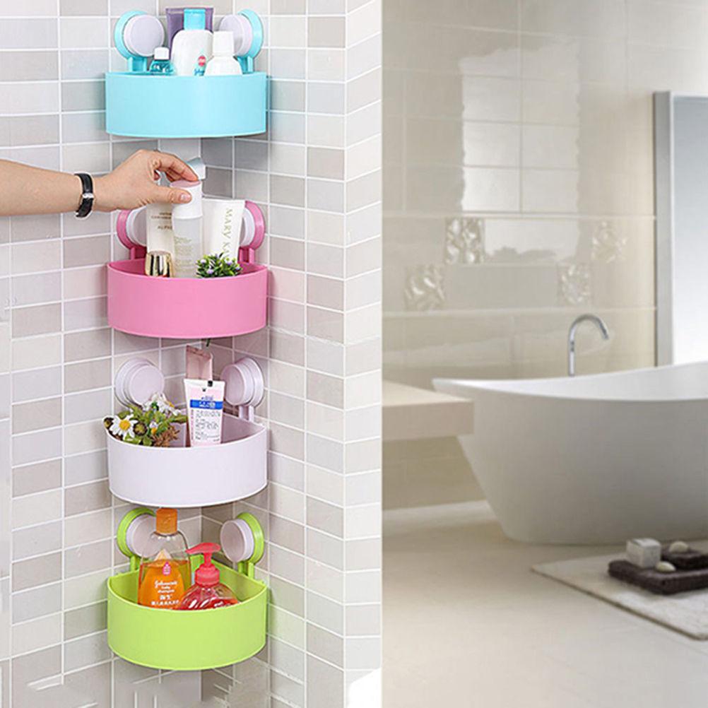 Shower Caddy Corner Bath Storage Bathroom Accessory Rack Holder ...