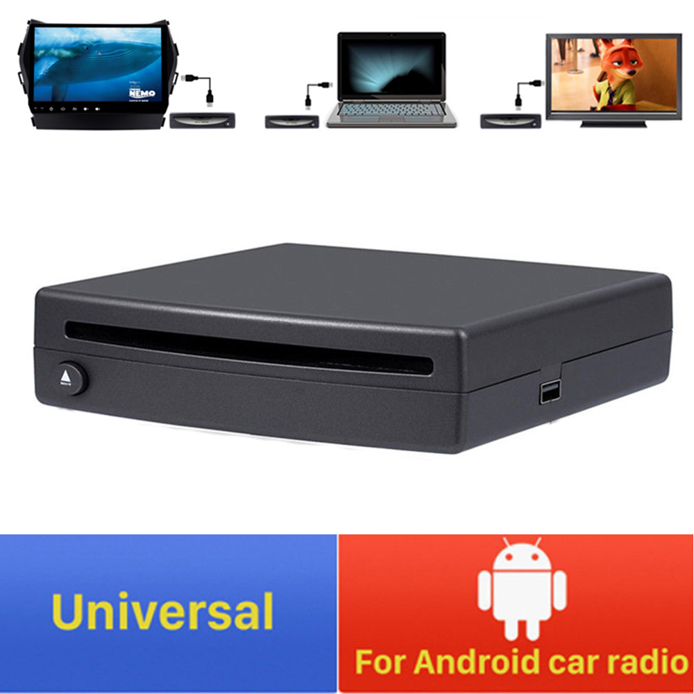 Android 1 Din HD PC Car CD DVD Player External Stereo