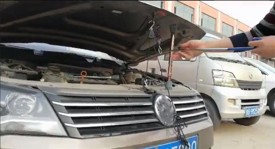 "15-24 /""Aluminiumlegierung Auto Motorabdeckung Haube Prop 1,5 Mt Nylon Seil kit"