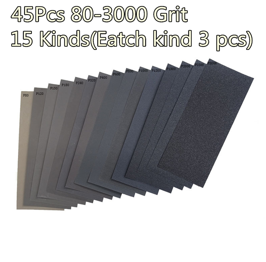 3pcs 2000 Grit Sandpaper Waterproof Abrasive Polishing Sand Paper Sheet 11 9 Business Industrial Other Abrasives Alberdi Com Mx