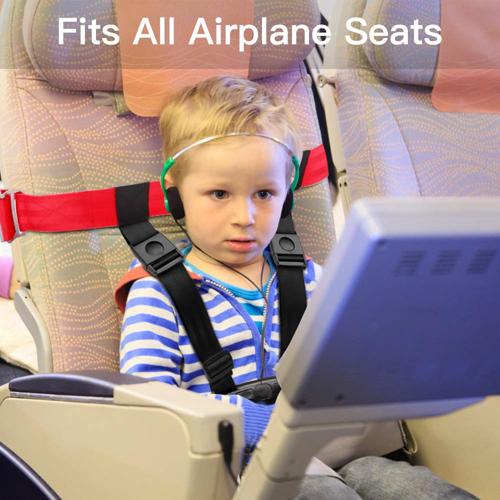 4e36db3290af Details about Child Safety Harness Airplane Travel Clip Strap.The Travel  Harness Safety System