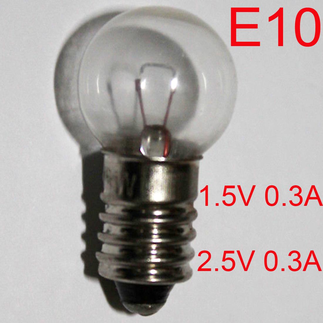 5x 12v volt LES Lilliput flashlight edison screw bulb UK Stock Size 16 mm x 5 mm