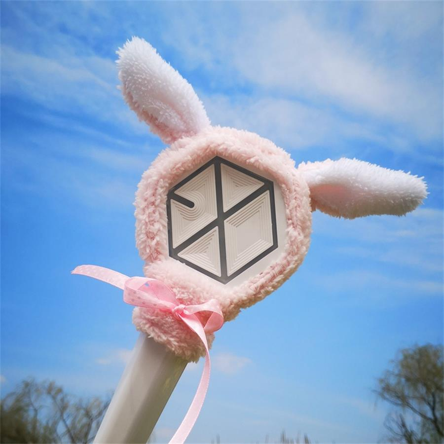 Kpop Exo Cute Cartoon Lightstick Headband Beakhyun Chanyeol Plush Head Cover At Any Cost Costume Props