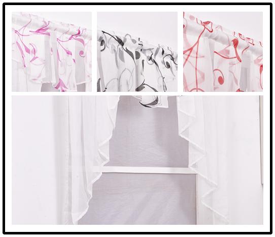 gardinen k che scheibengardinen kleinfenster kleinfenstergardine 80 100 120 140 ebay. Black Bedroom Furniture Sets. Home Design Ideas