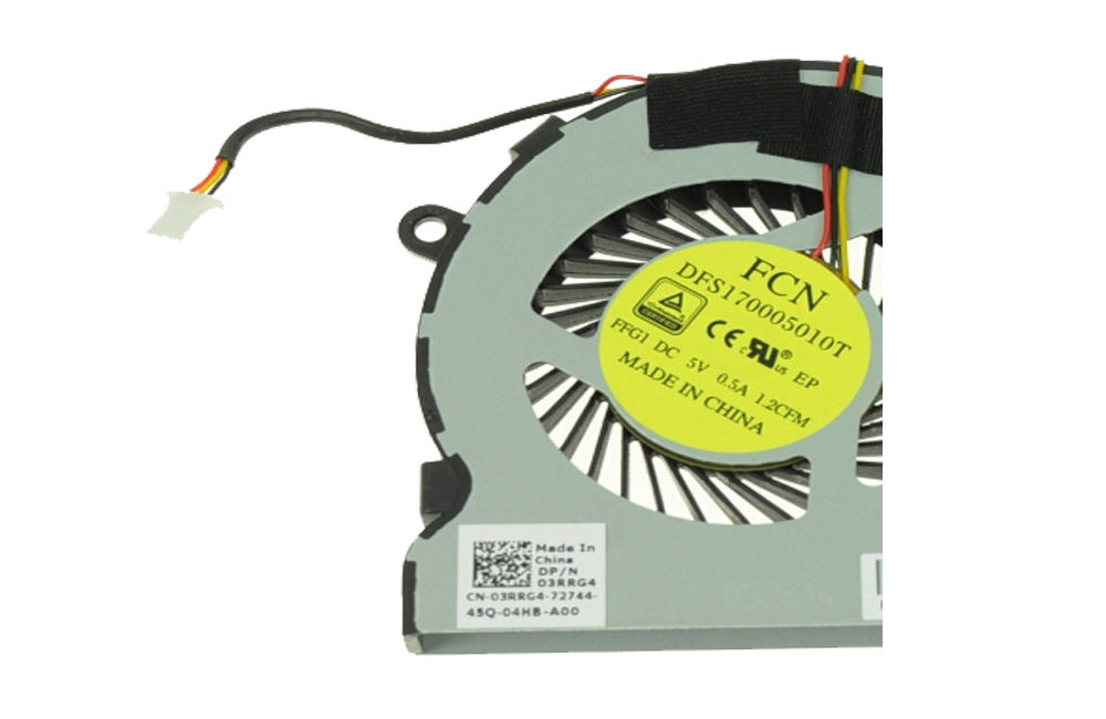 NEW Dell Inspiron 5000 15-5547 CPU Fan 3RRG4 AB07005HX080300 DC28000EDA0