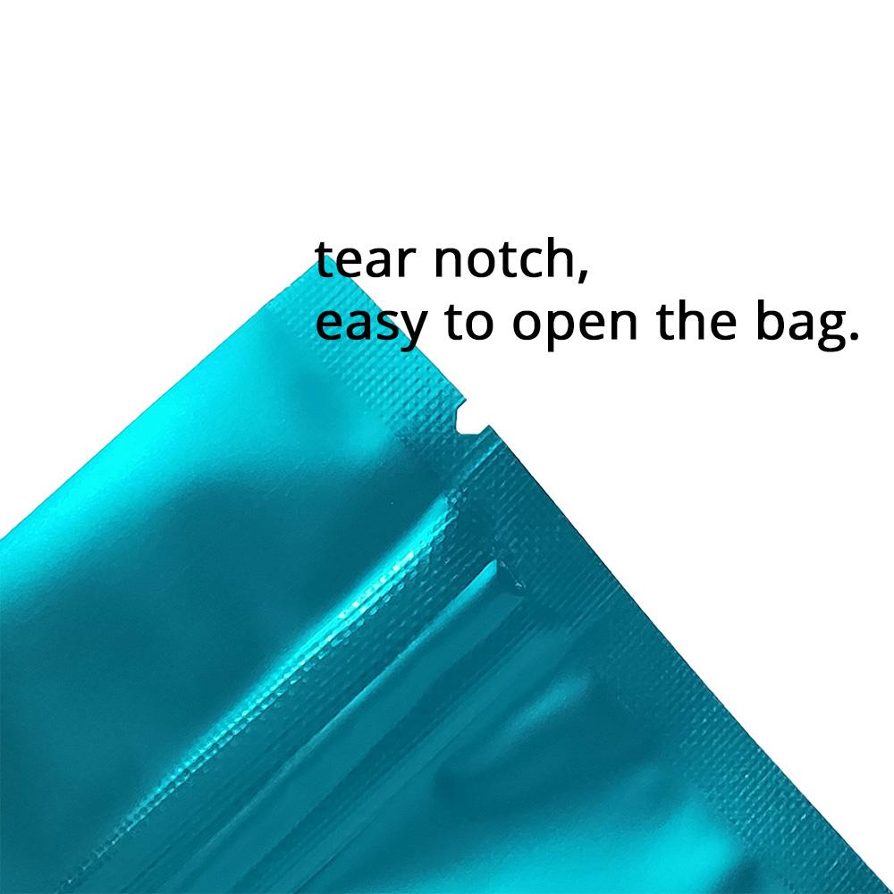 2.25x4in Pink Matte Foil Mylar Flat Zip Lock Bag w// Window/&Euro Slot /&Desiccant