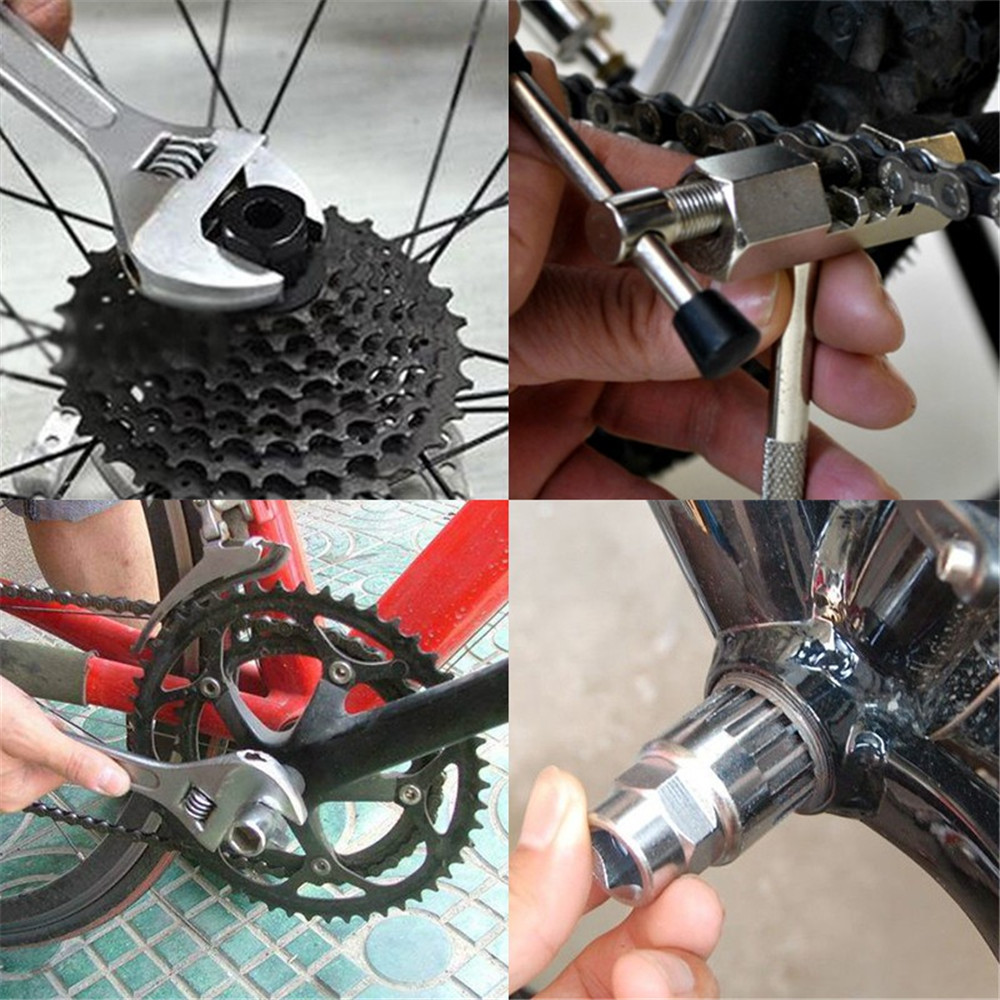Carbon Steel Bike Bicycle Cycle Crank Wheel Puller Mountain Crank Puller Pedal D