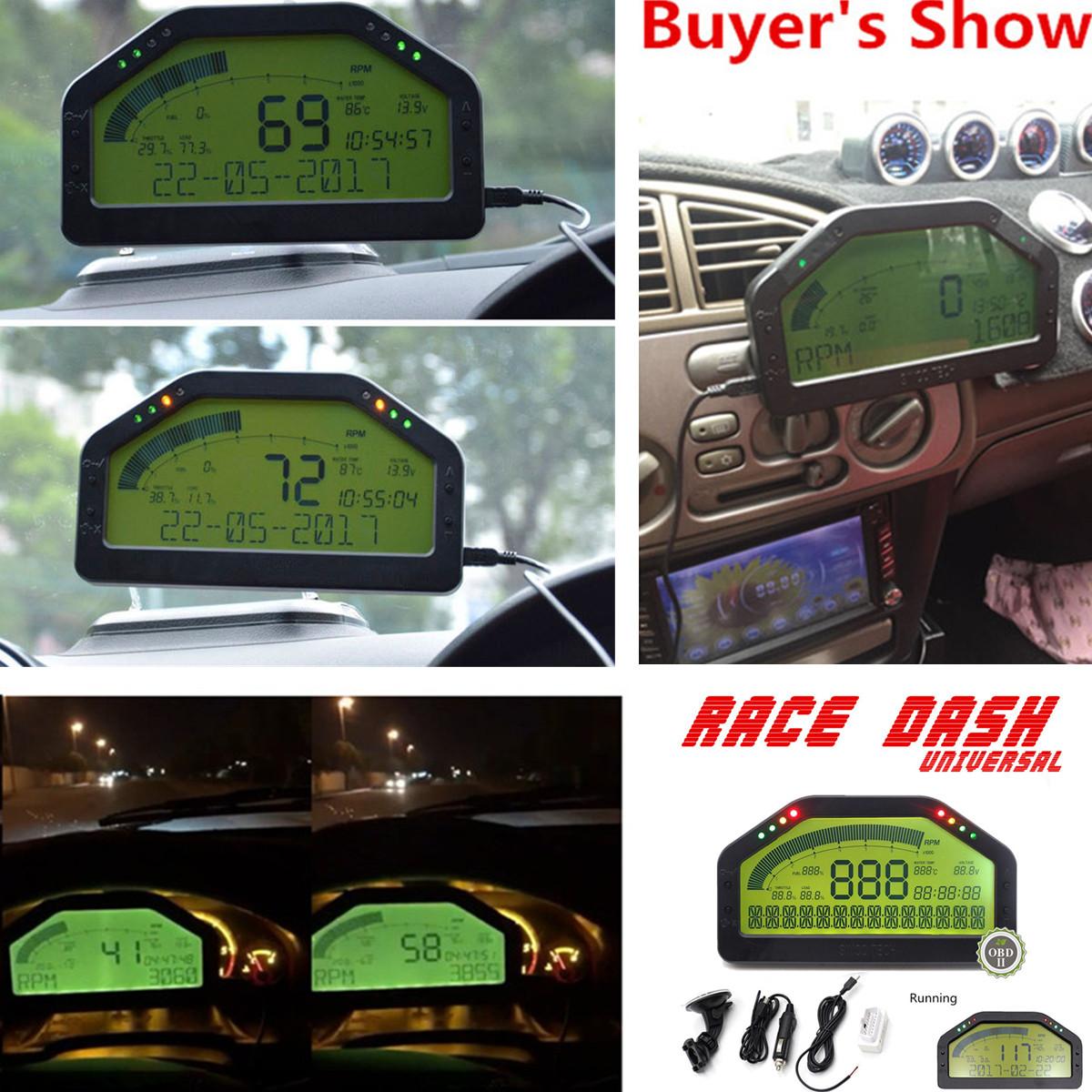 car dash race display obd2 bluetooth sensor kit dashboard. Black Bedroom Furniture Sets. Home Design Ideas