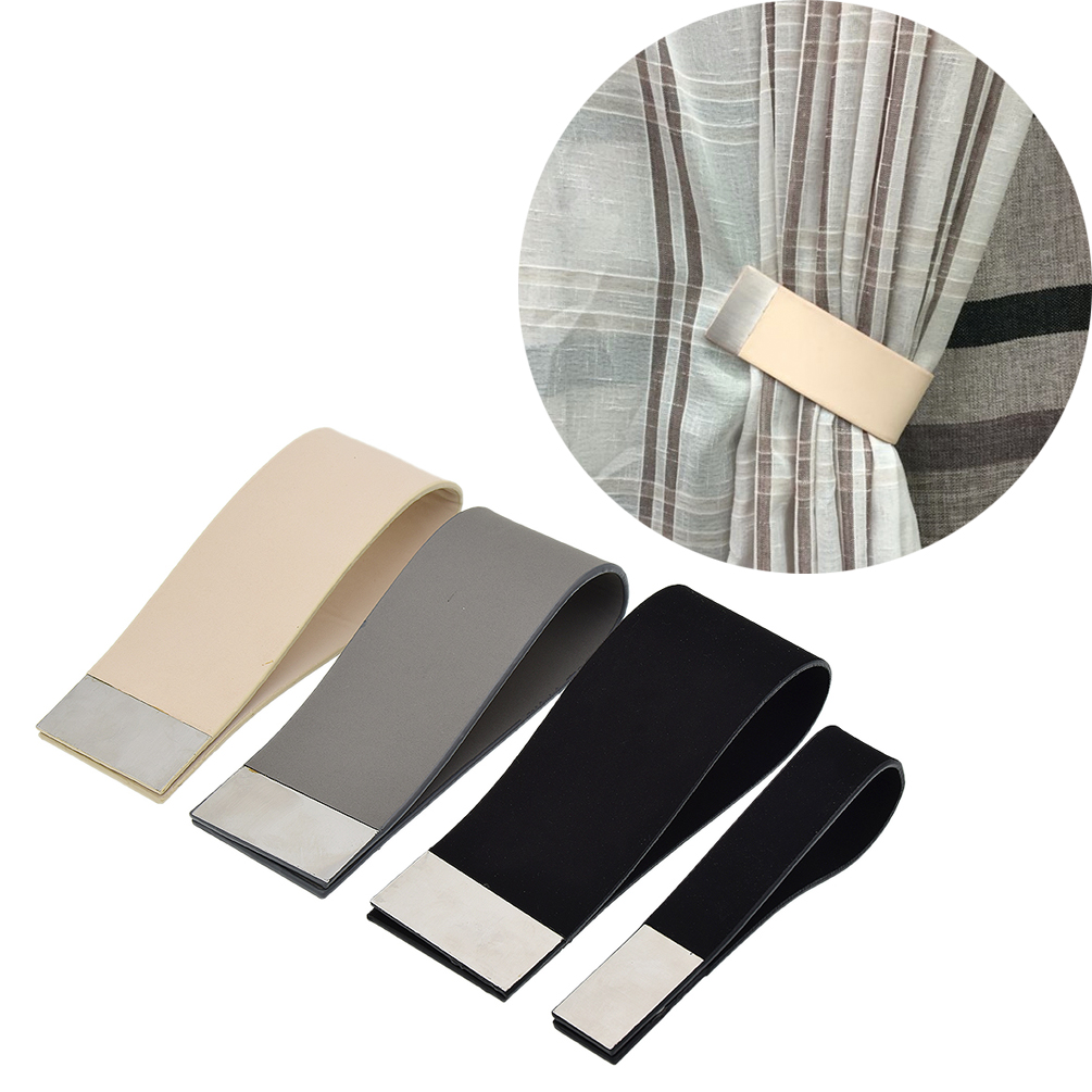 raffhalter gardinen magnet vorhang zugband curtain tie back fenster deko 1stk ebay. Black Bedroom Furniture Sets. Home Design Ideas