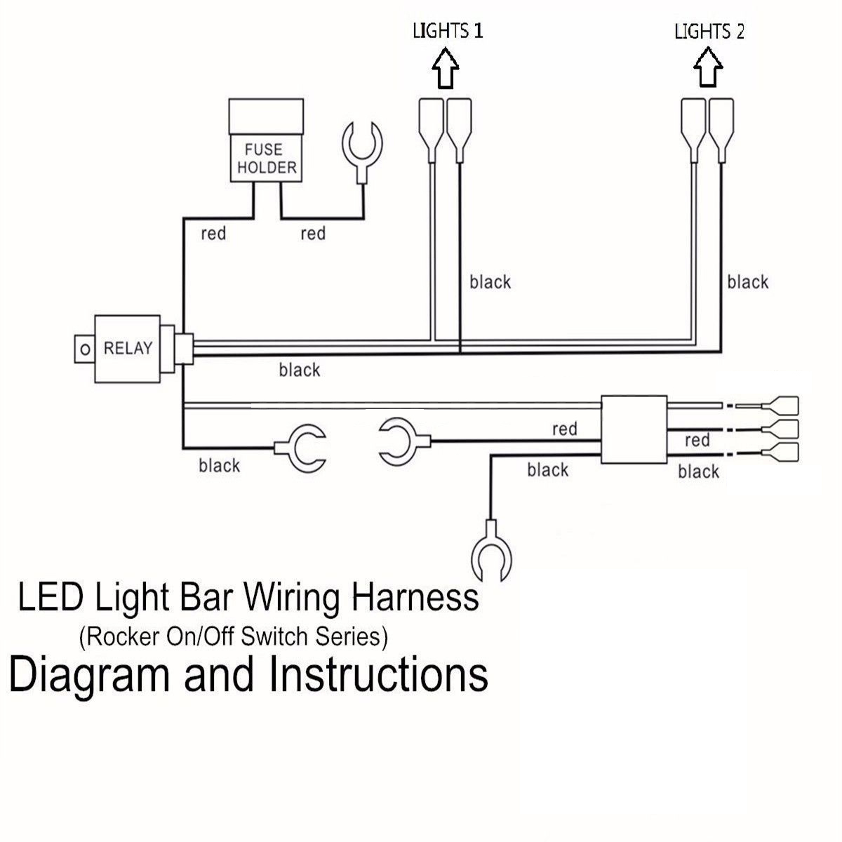 Lead Led Light Bar Switch Wiring Diagram on