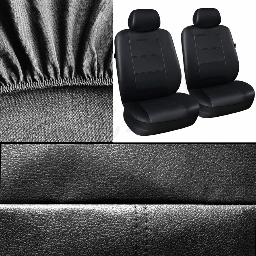 Black Rear Back Waterproof Car Seat Cover Protector For Volvo XC60 2008-2017