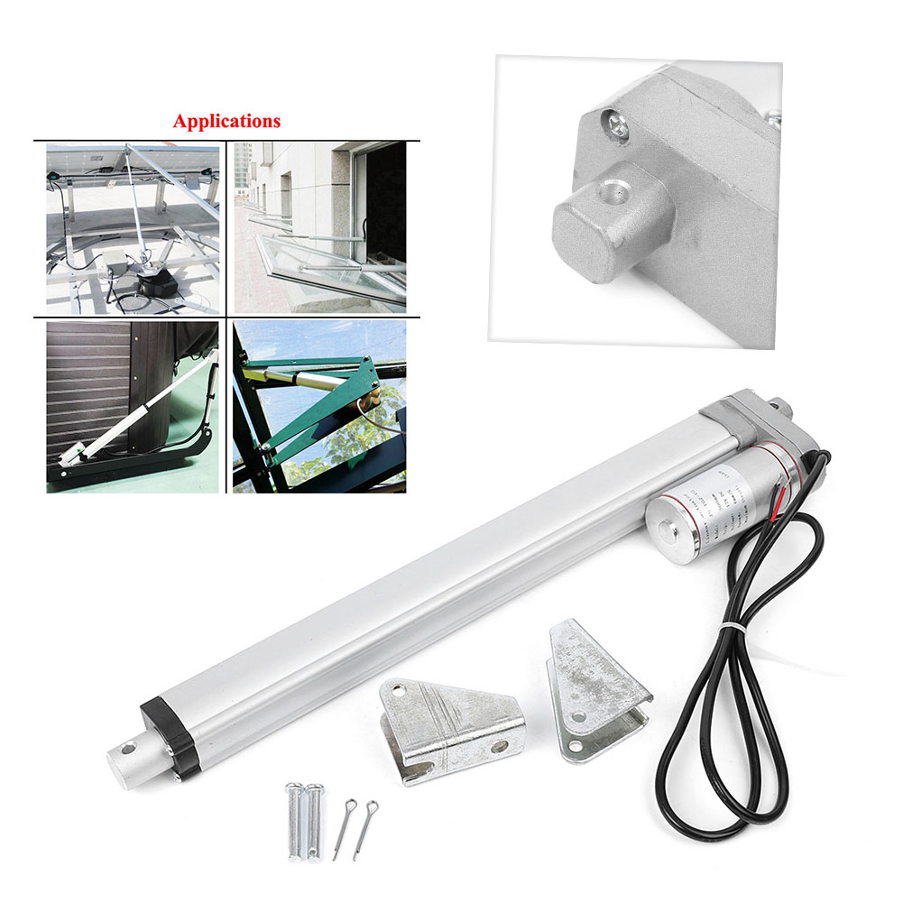 """DC12V 2/""""-18/"""" Heavy Duty Linear Actuator Electric Motor for Medical Lift Auto Car"""