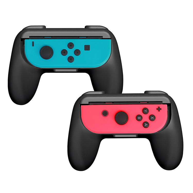 Details about 2 Pack Wear-resistant Joy-con Controller Handle Grip Holder  for Nintendo Switch