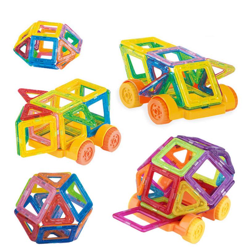 22Pcs Mini Größe magnetische Bausteine Spiel pädagogische Bau Spielzeug Kind