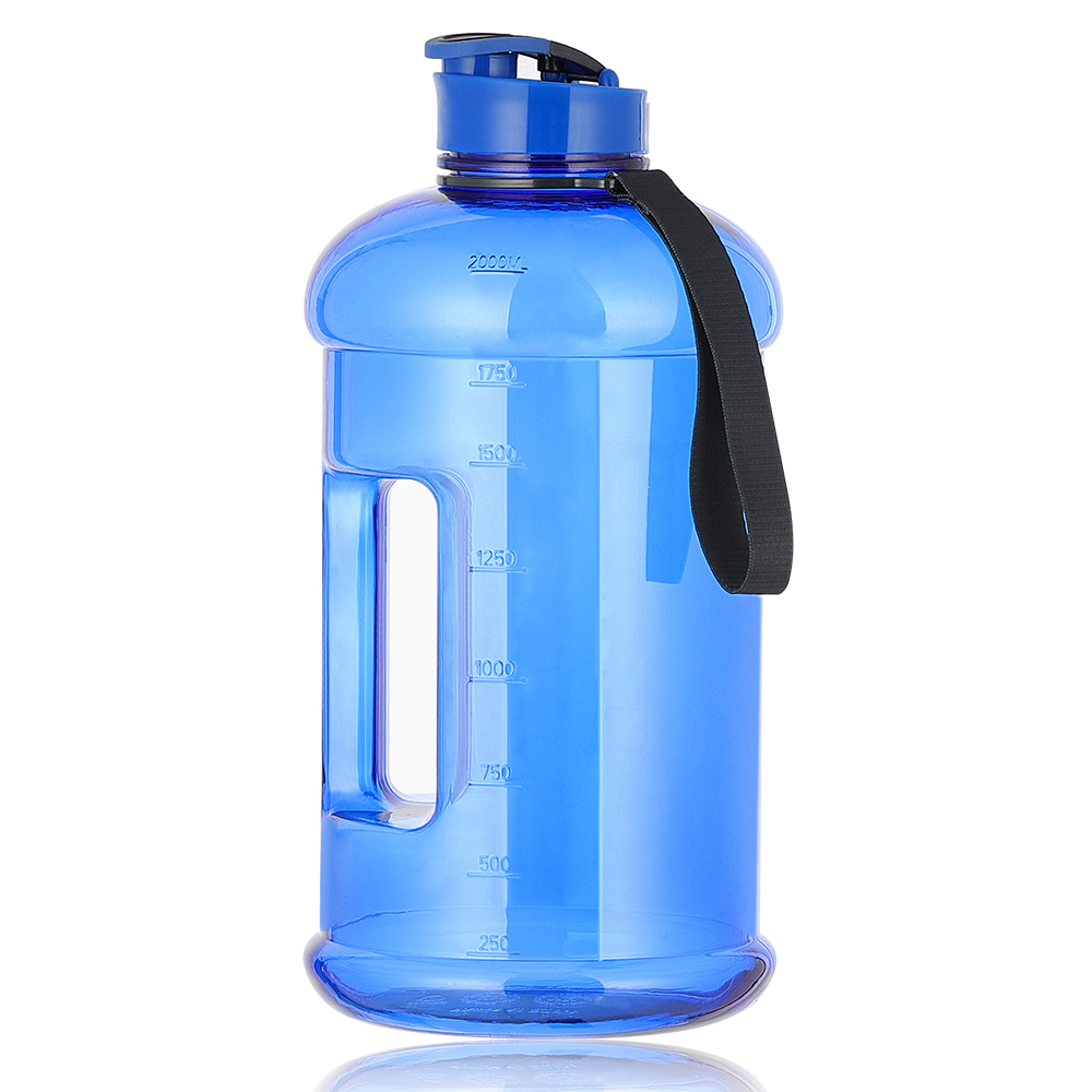 2.2L Large Capacity Water Bottle BPA Free Handgrip Kettle for Gym Fitness #JD