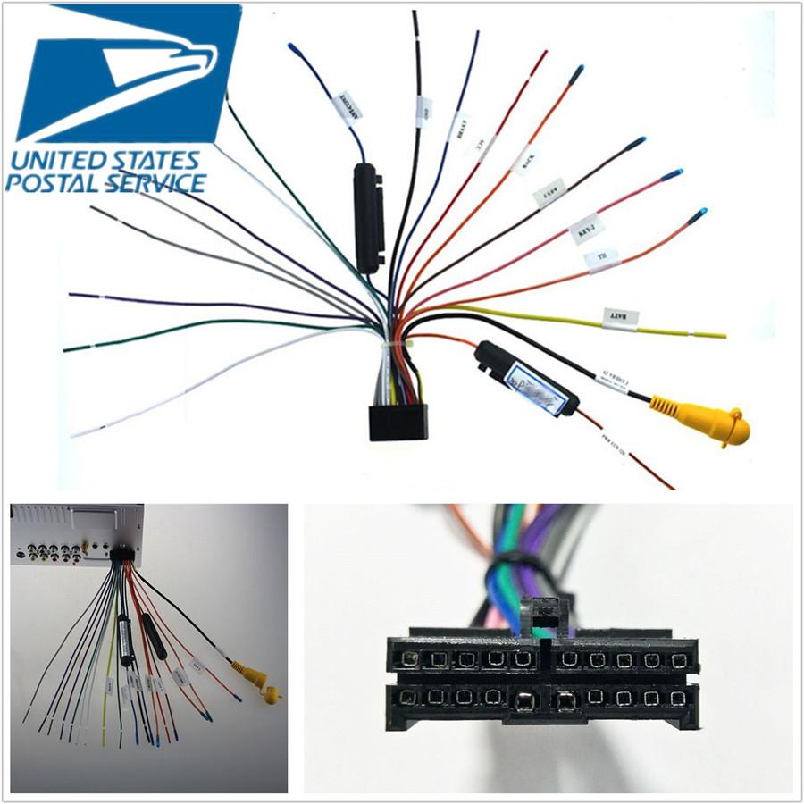 New 20 Pin AUTO STEREO WIRE HARNESS PLUG for JENSEN VX7022 Wire Harnesses  Consumer Electronics tamerindsa.com.arTamer