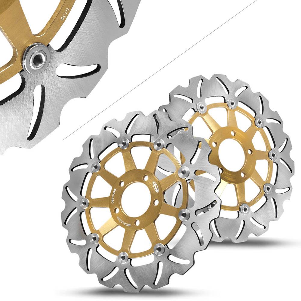 Front Brake Disc Rotors For Kawasaki ZRX1100 ZZR1100 ZRX1200S ZRX1200R ZRX1200
