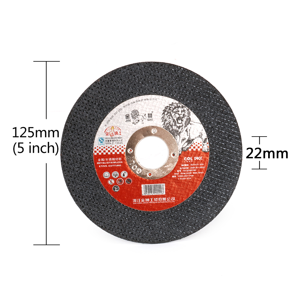 """25Pcs 4 Inch Cut Off Wheel Resin Cutting Disc For Metal Angle Grinder 5//8/"""" Bore"""