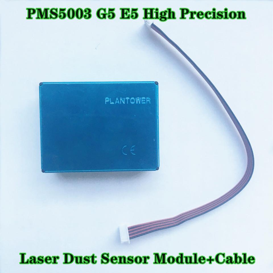 Plantower haute précision laser Poussière capteur Module PM1.0 PM2.5 PM10 PMS5003 G5