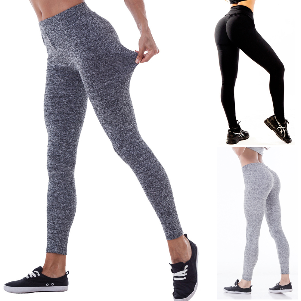 5b93f811d5f58 Details about New Women's Sexy Push Up Yoga Pants Sports Gym Skinny  Leggings Fitness Trousers