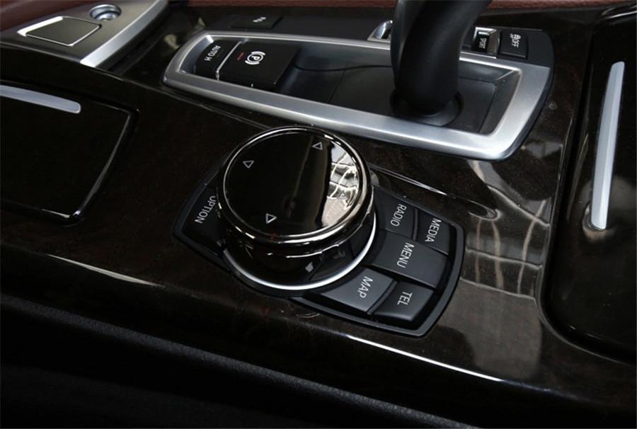 Multimedia Knob Cover Idrive Button For BMW E46 E39 E60 E90 F30 E36 F10 X5 E53
